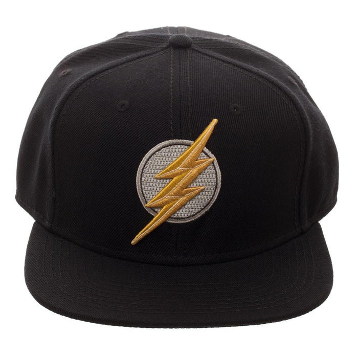 DC Comics Justice League The Flash Logo Black Snapback