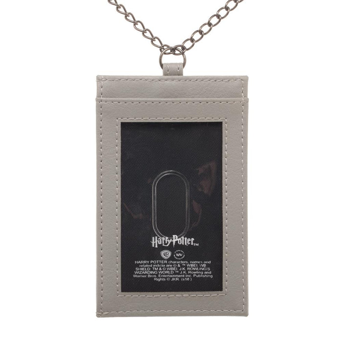 Harry Potter Metal Chain Lanyard with card holder