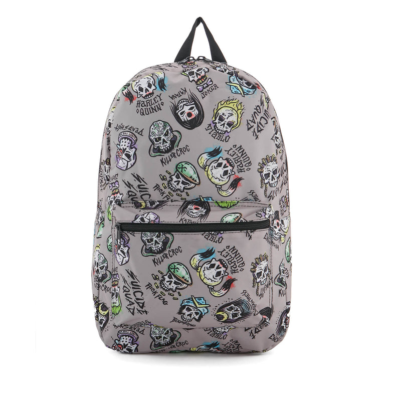Suicide Squad Quickturn Character All Over Print Backpack
