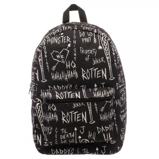 Suicide Squad Quick Turn All Over Print Sketch Backpack