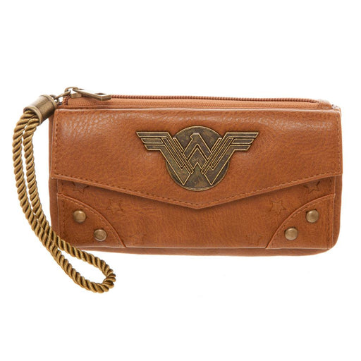 DC Comics Wonder Woman Top Zip with Rope Puller Purse