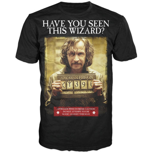 Bioworld Harry Potter Sirius Black Have You Seen This Wizard T-Shirt