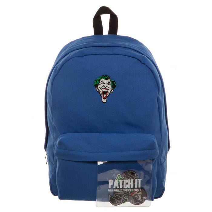 DC Comics The Joker Patch It Backpack