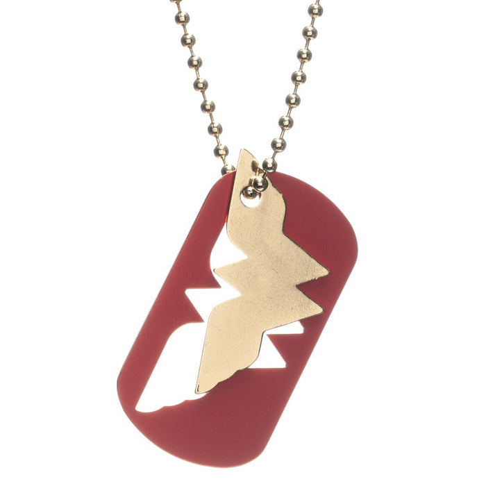 DC Comics Wonder Woman Cut Out Dog Tag