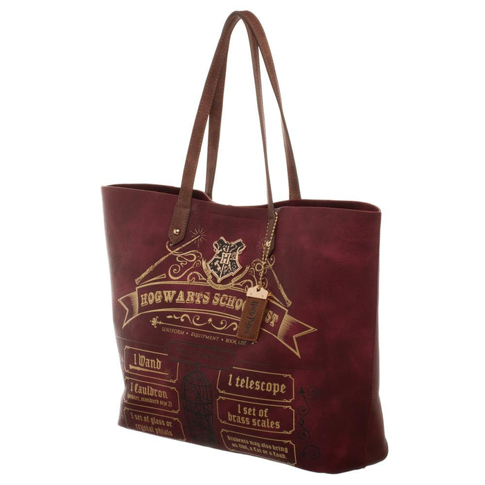 Harry Potter Hogwarts School List Tote Bag