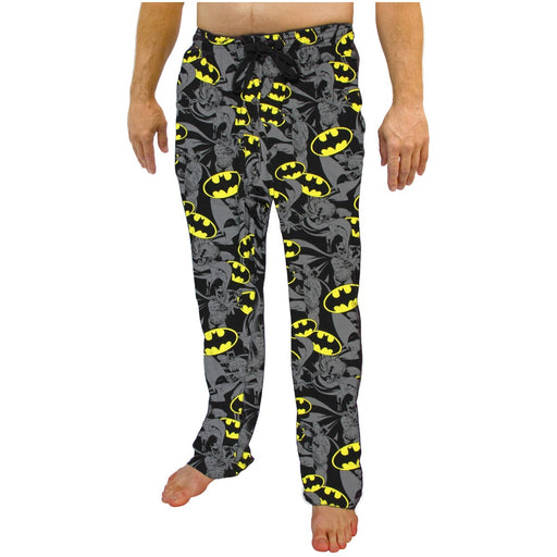 Bioworld Batman Exploded All Over Print Pajama Bottoms