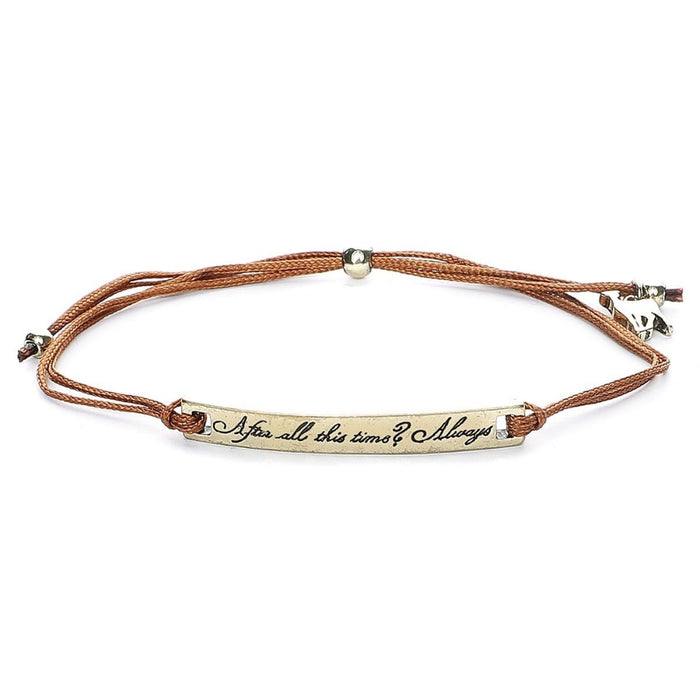 Harry Potter After All This Time Bracelet set