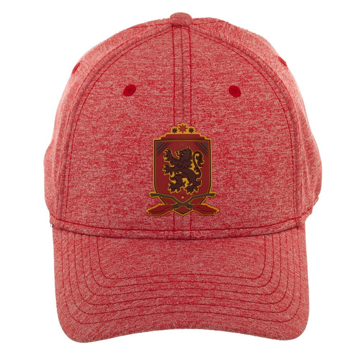 Harry Potter Gryffindor logo Rubber Weld Ball Cap