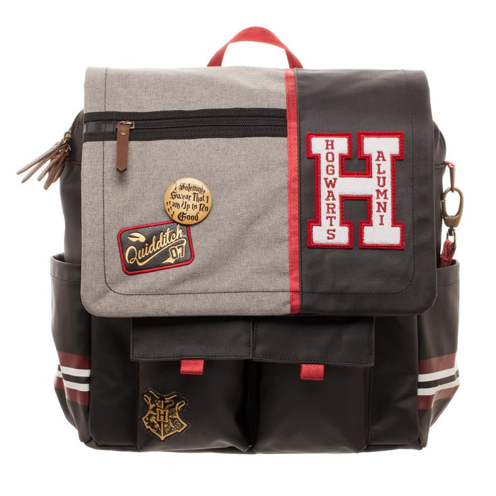 Harry Potter Hogwarts Alumni Convertible Backpack