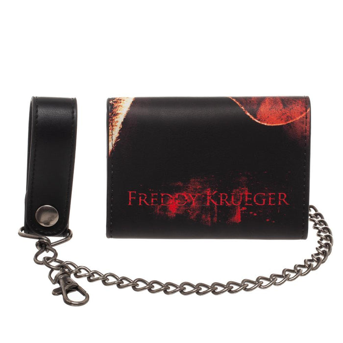 Nightmare on Elm Street Freddy Kruger Chain Wallet