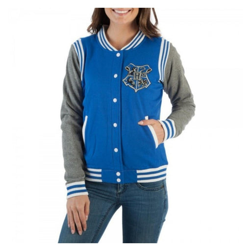 Bioworld Harry Potter Ravenclaw 07 Quidditch Varsity Jacket