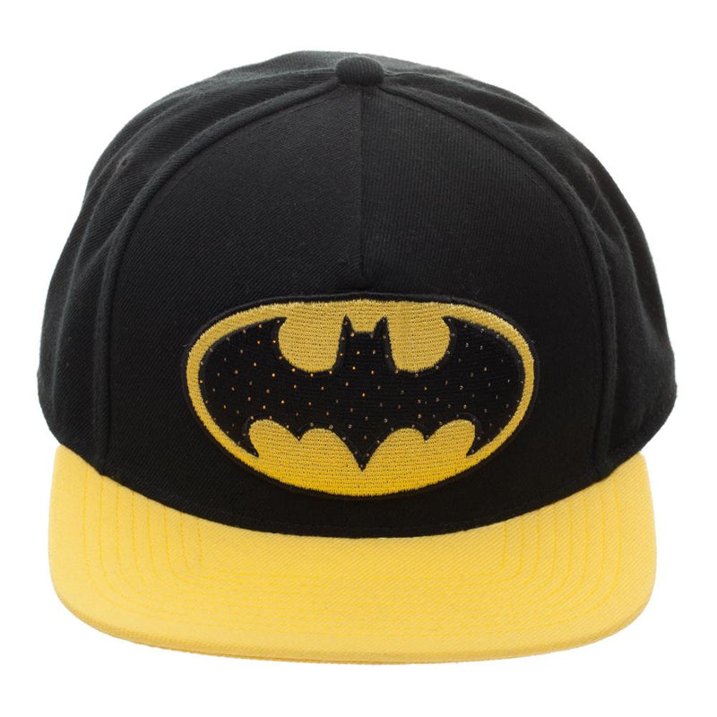 Batman Yellow Bill Snapback Cap