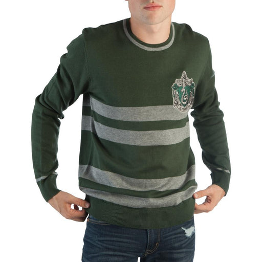 Bioworld Harry Potter Slytherin Jacquard Sweater