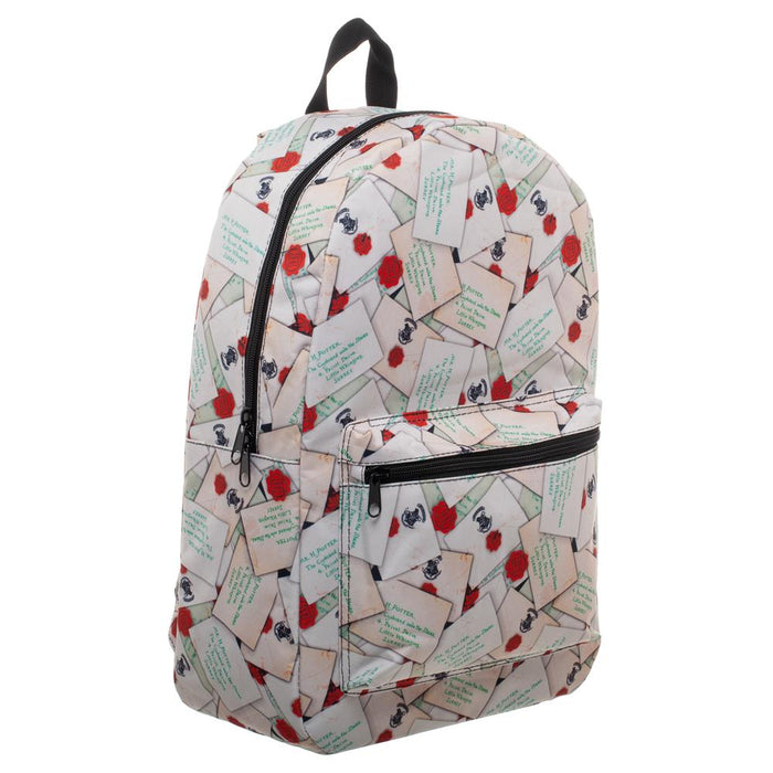 Harry Potter Letter All Over Print Quickturn Backpack