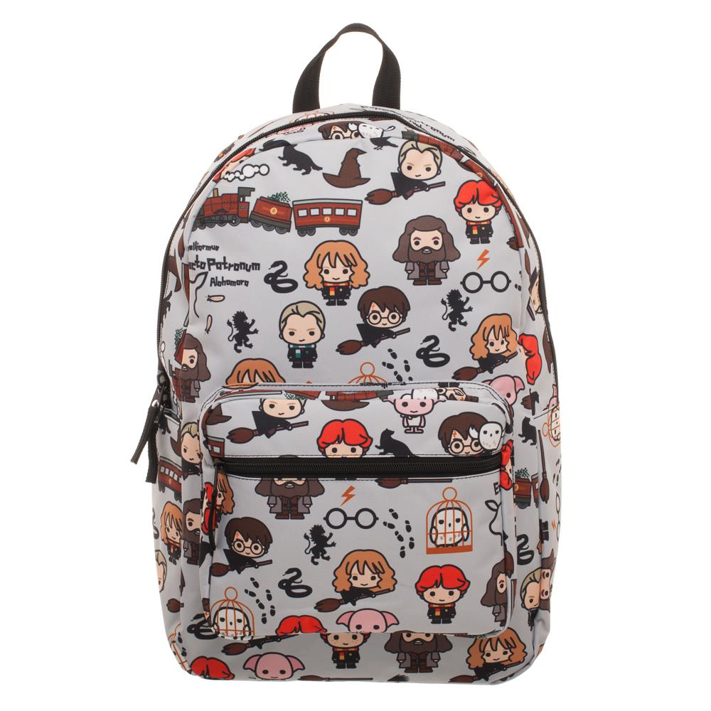 Bioworld Harry Potter Chibi Art All Over Print Backpack