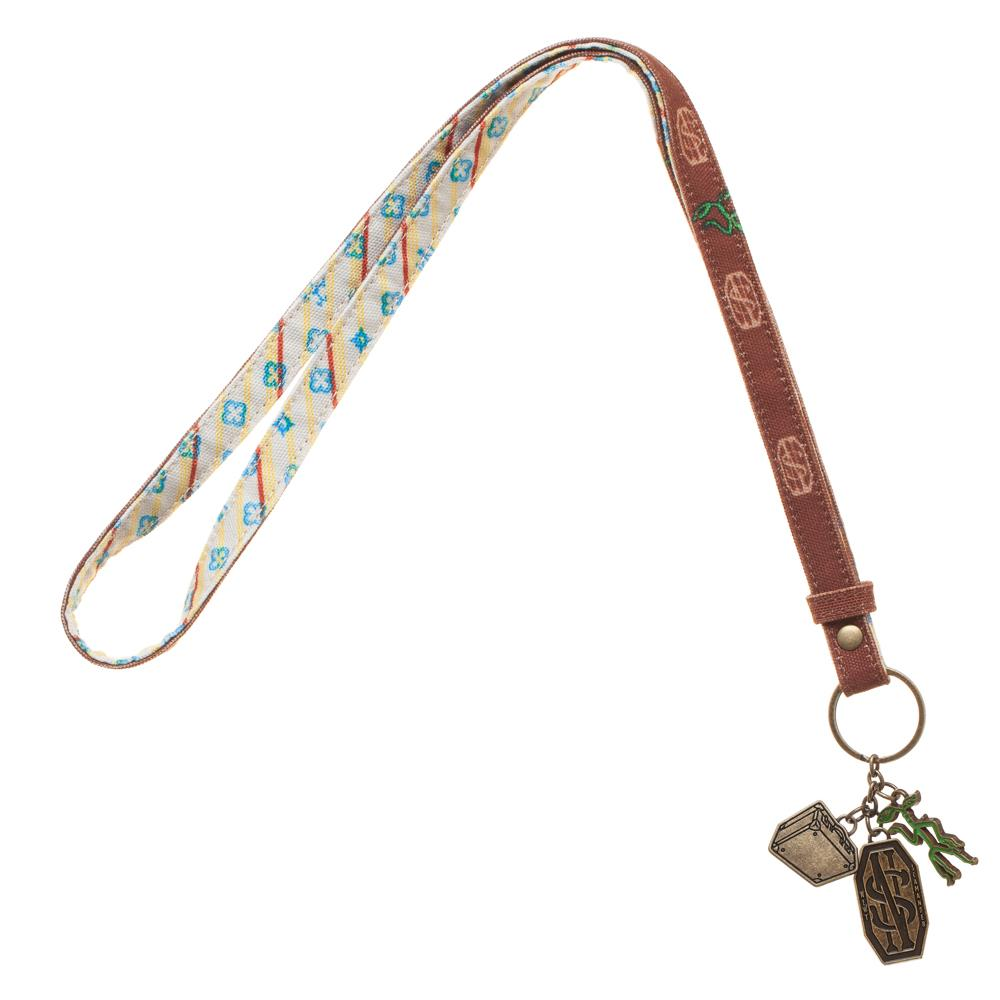 Bioworld Fantastic Beasts and Where to Find Them Newt Pickett Charm Lanyard