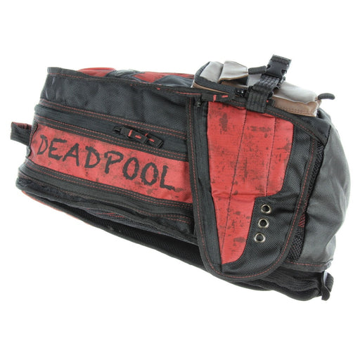 Bioworld Deadpool Built Up Laptop Backpack with PU Pouches