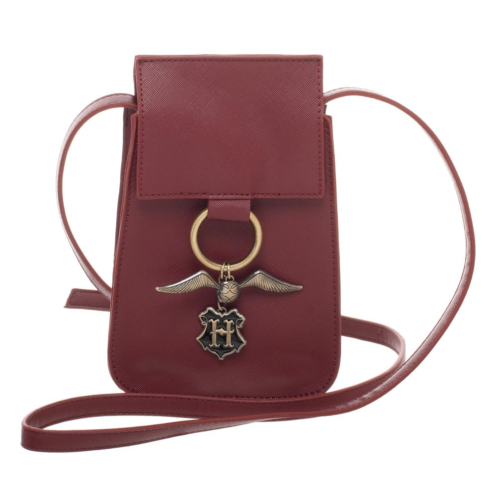 Bioworld Harry Potter Golden Snitch Crossbody Handbag