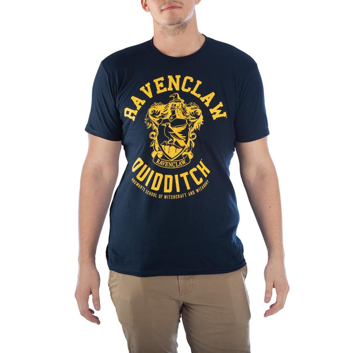 Bioworld Harry Potter Ravenclaw Quidditch Mens T-Shirt