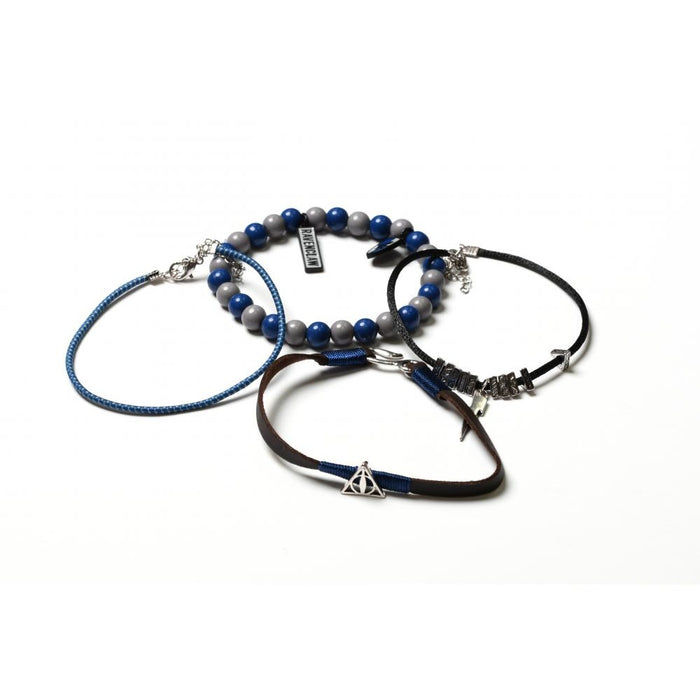 Bioworld Harry Potter Ravenclaw Bracelet Set