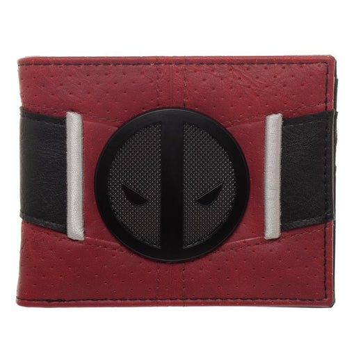 Bioworld Marvel Deadpool Badge Suit-Up Bifold Wallet