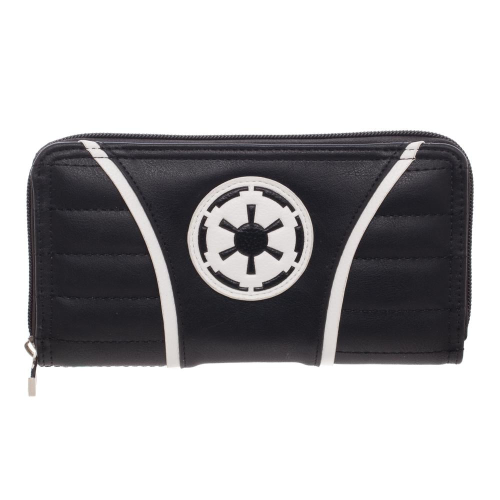 Bioworld Star Wars Empire Jrs Zip Around Purse