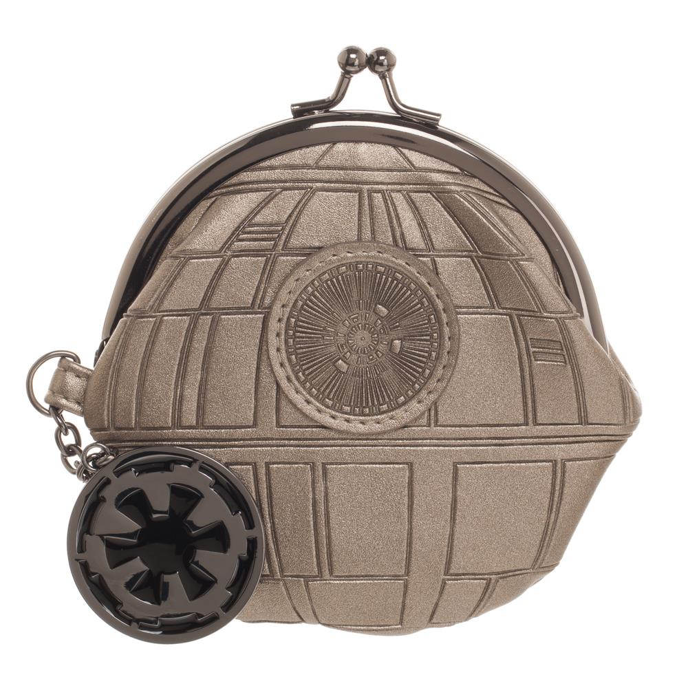 Bioworld Rogue One Death Star Kiss Lock Coin Pouch