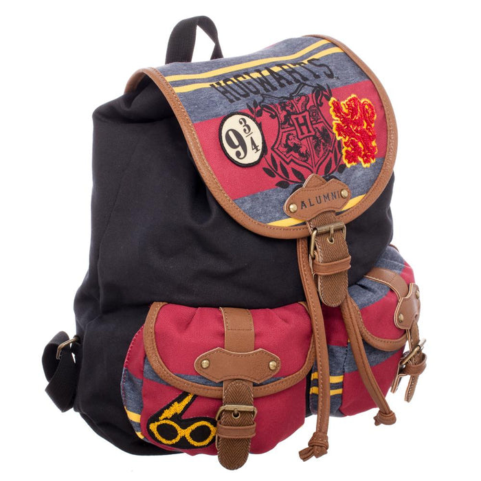 Bioworld Harry Potter Jrs Patch with Striping Knapsack
