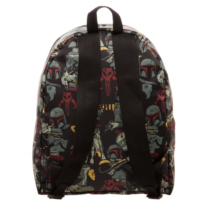 Bioworld Star Wars Boba Fett All Over Print Packable Backpack