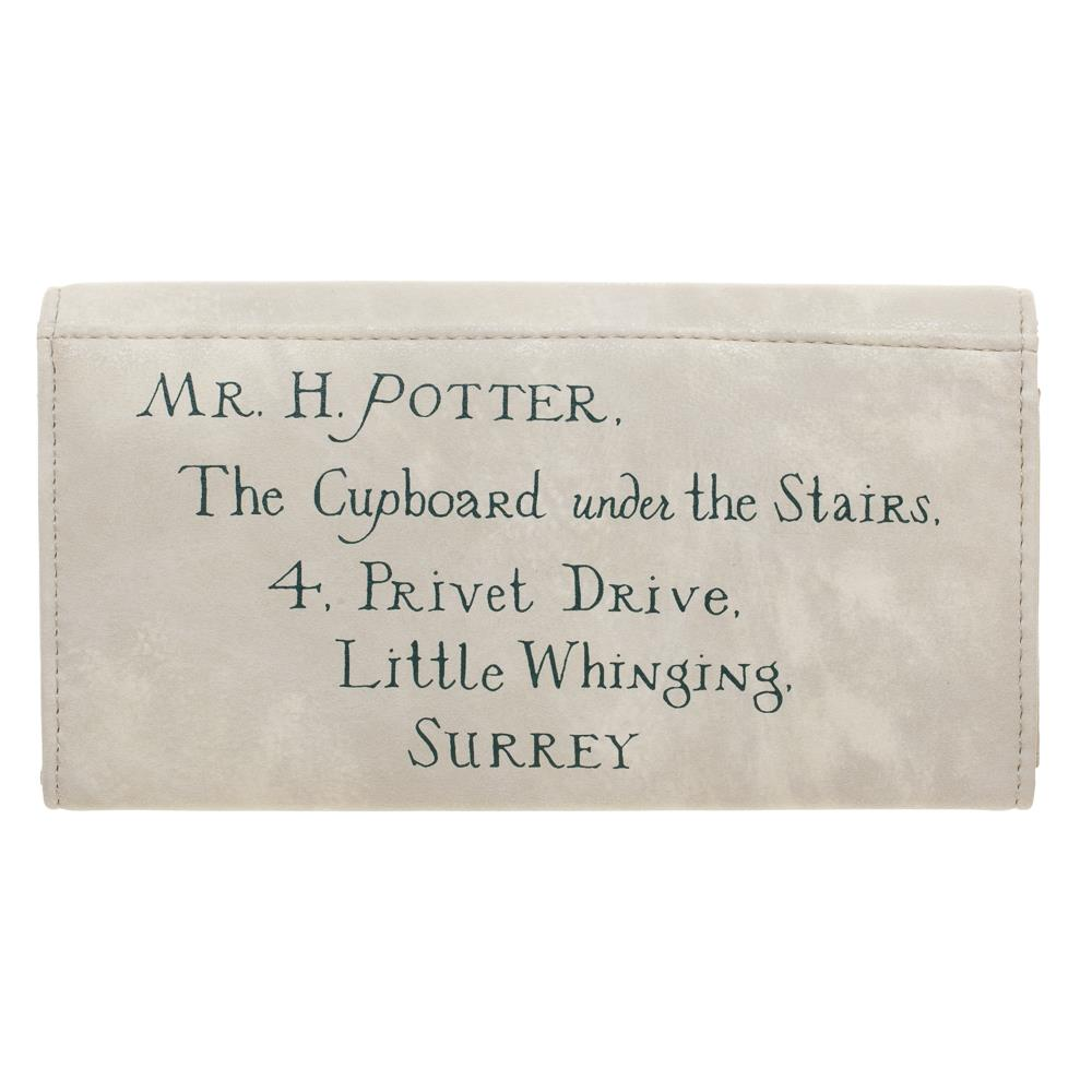 Bioworld Harry Potter Privet Drive Letter Flat Purse