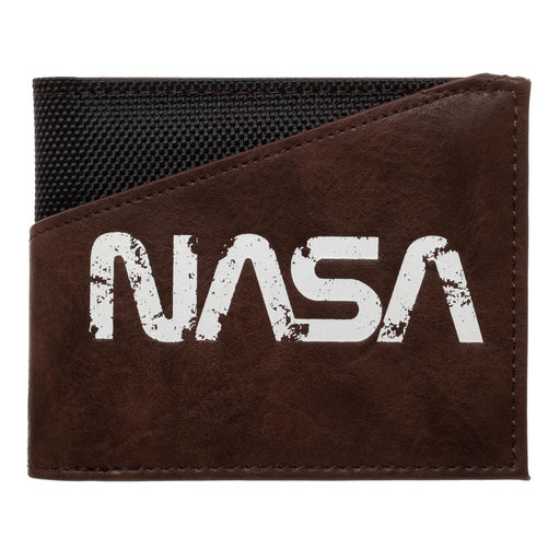 Bioworld NASA Logo PU Leather Bifold Wallet
