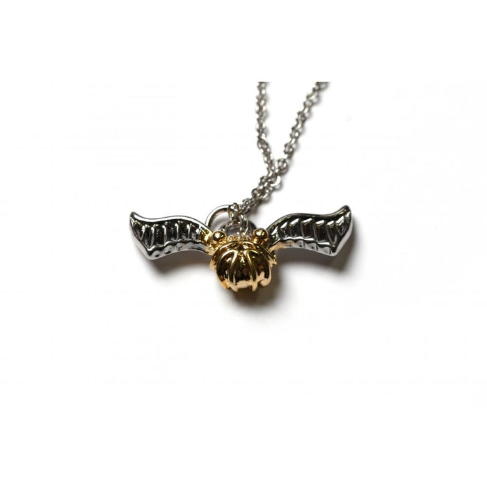Bioworld Harry Potter Golden Snitch Pendent and Necklace