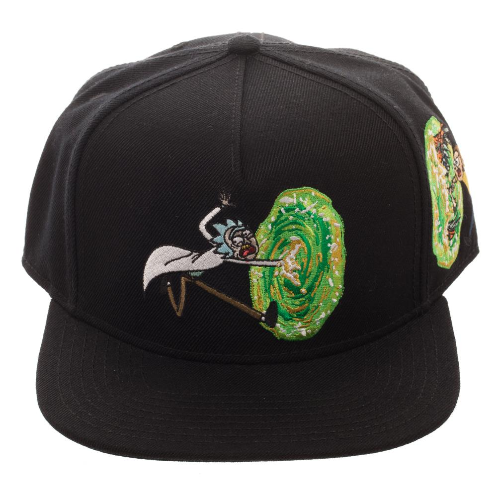 Bioworld Rick and Morty Portal Emblem Snapback