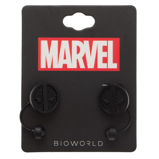 Bioworld Marvel Deadpool Logo Earrings