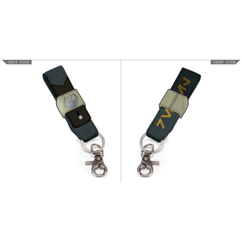 Bioworld Star Wars Rogue One Rebel Strap Keychain