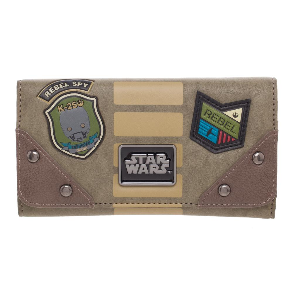 Bioworld Star Wars Rogue One Rebel Flap Purse