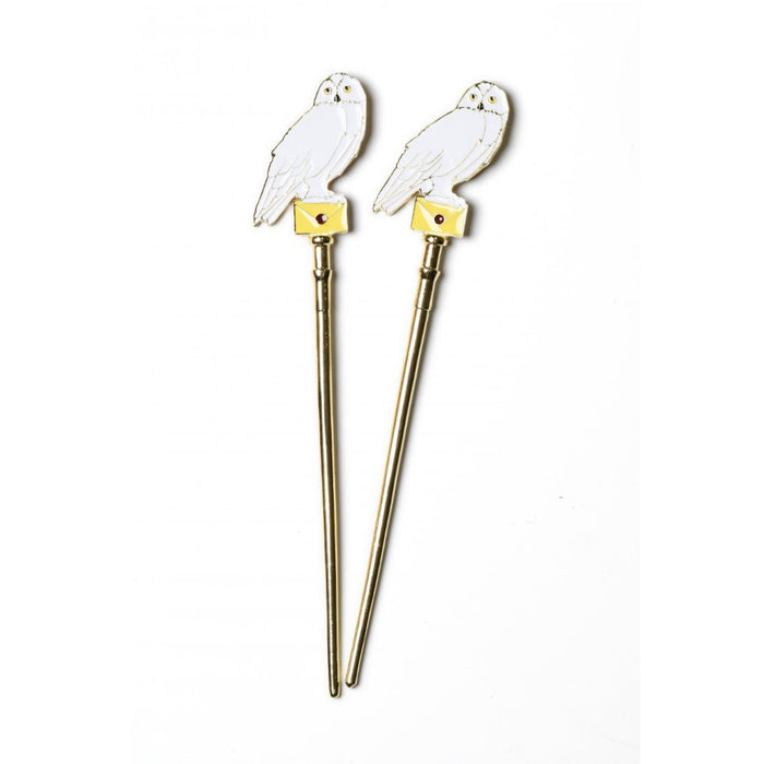 Bioworld Harry Potter Hedwig Hair Sticks