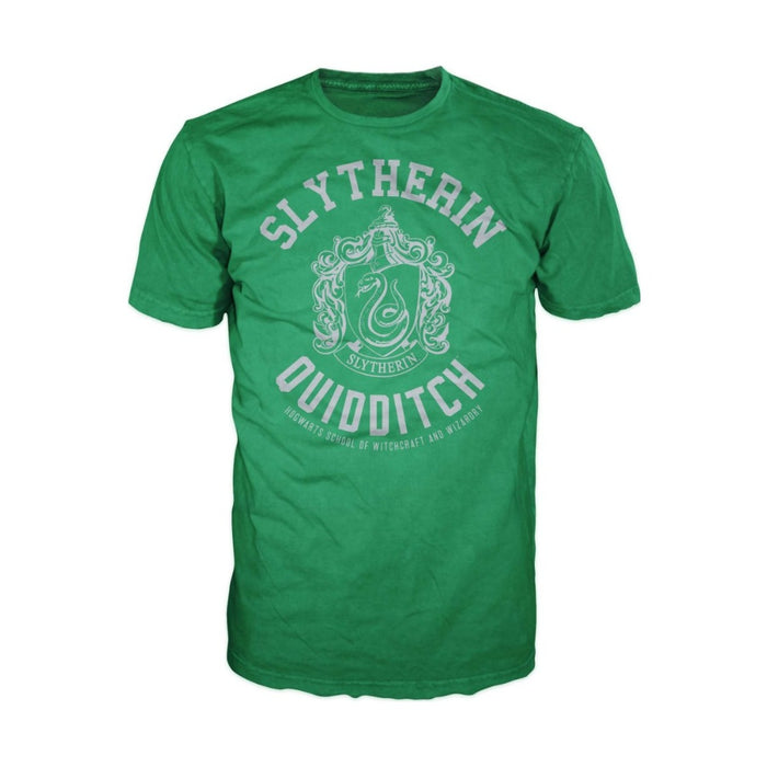 Bioworld Harry Potter Slytherin Quidditch Mens T-Shirt