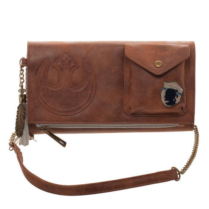 Bioworld Star Wars Episode 8 Crossbody Clutch with Metal Badge
