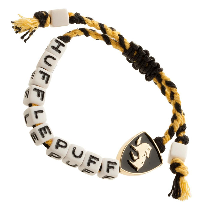 Bioworld Harry Potter Hufflepuff Cube Bead Bracelet