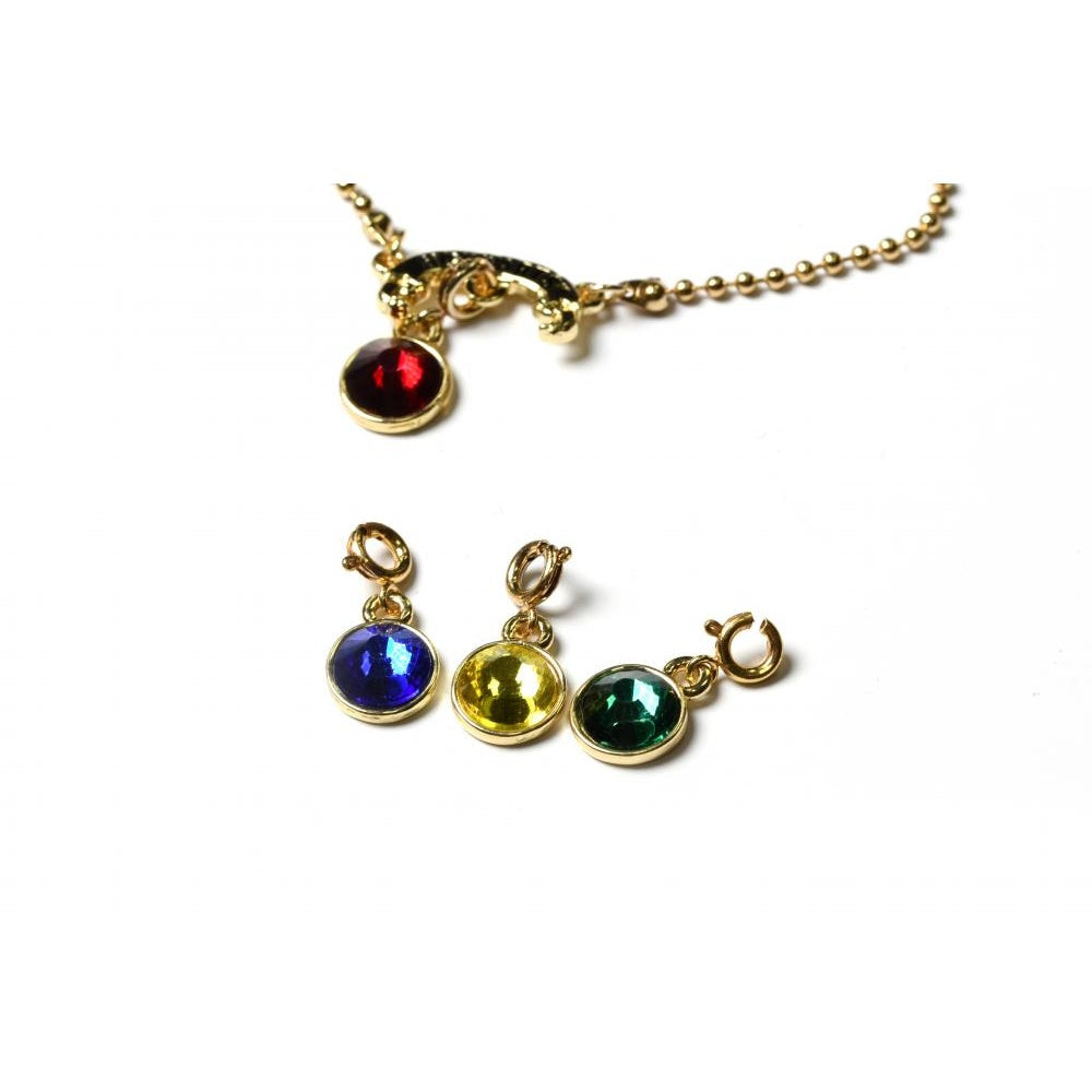 Bioworld Harry Potter Hogwarts Houses Charm Necklace