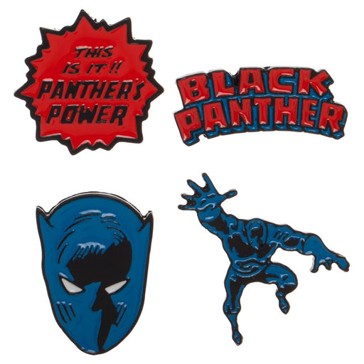 Bioworld Marvel Black Panther Enamel Lapel Pins