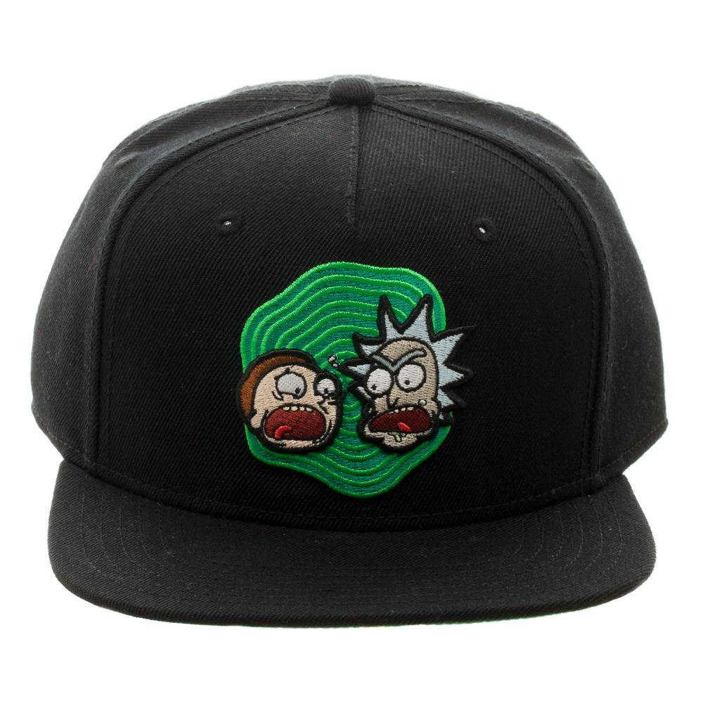 Bioworld Rick and Morty Black Snapback