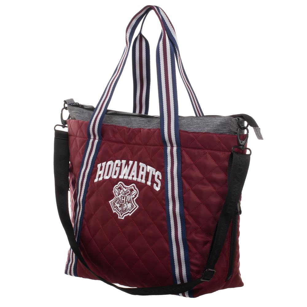 Bioworld Harry Potter Hogwarts Athletic Tote Bag
