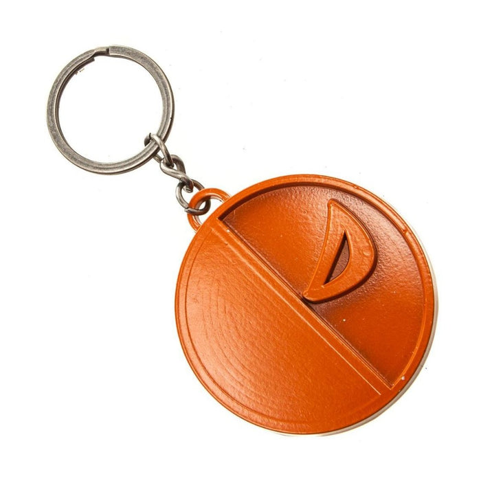 Bioworld Justice League Deathstroke Painted Metal Keychain