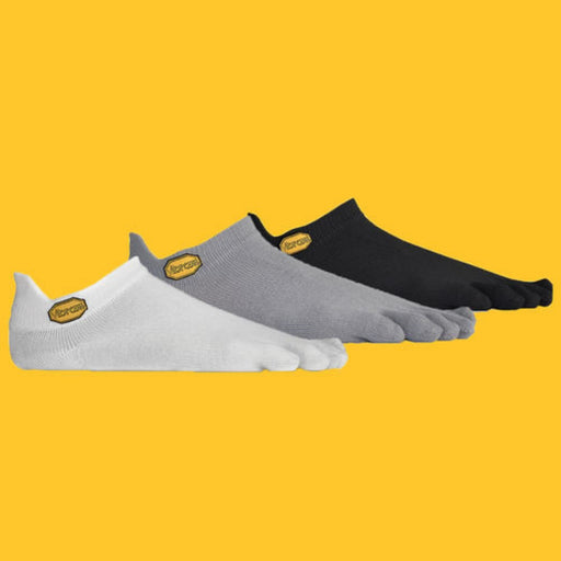 Vibram 5Toe Sock No Show Grey