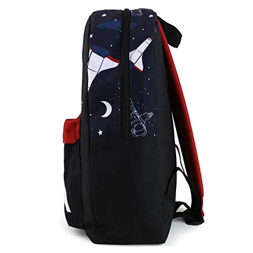 NASA Blocked Backpack with Side Pockets