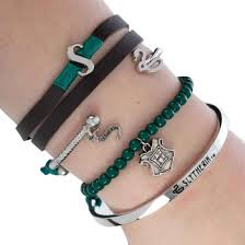 Harry Potter Hogwarts Slytherin Arm Party
