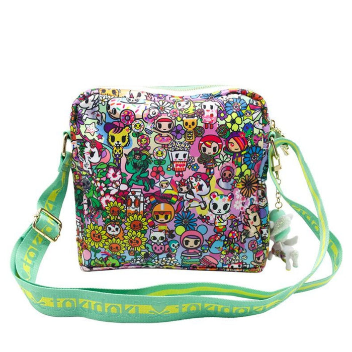 TokiDoki Flower Power Crossbody Bag