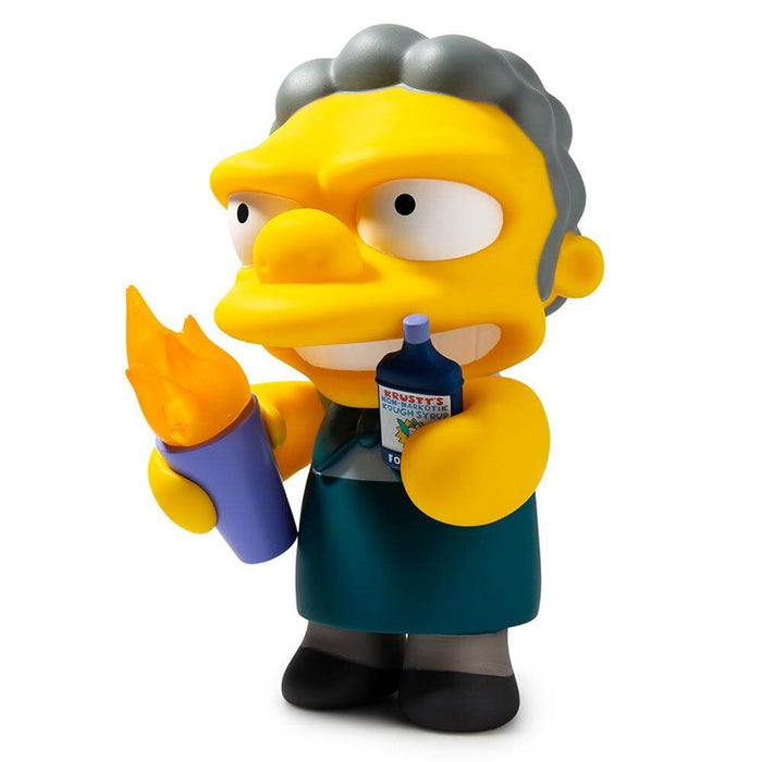 Kidrobot The Simpsons Flaming Moe Medium Figure